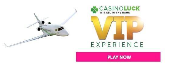 CasinoLuck.com VIP program and loyalty rewards