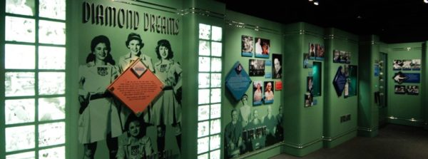 The Baseball Hall of Fame & Museum takes a look at women in the sport, too.