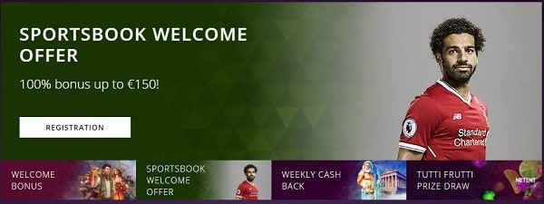 Malina Casino sportsbook bonus