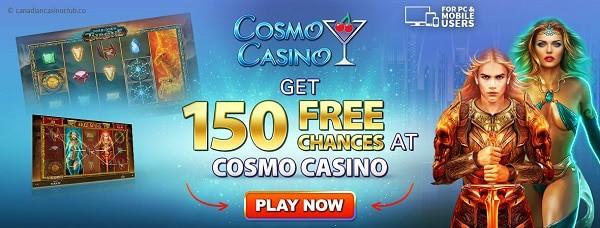 Cosmo Casino free play bonus