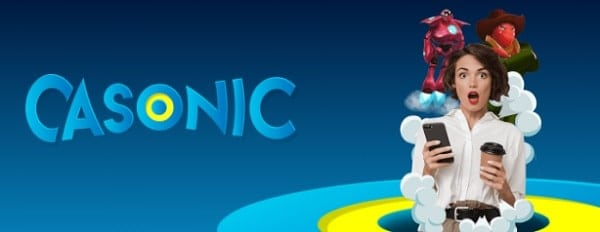 Casonic Casino free spins bonus