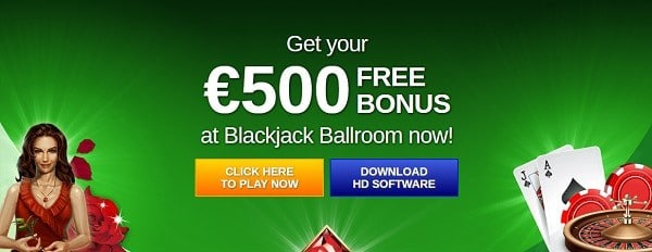 $500 Free Play Bonus
