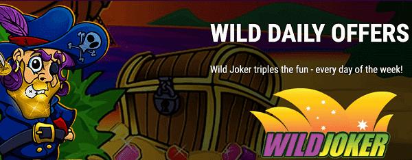 Wild Joker free spins