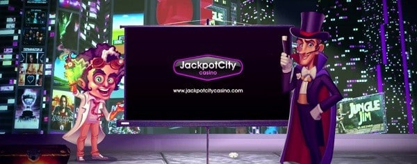 Jackpot City Casino register and login