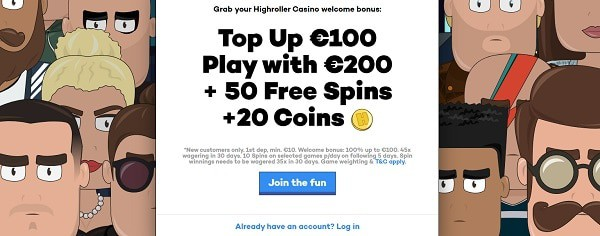 Welcome Bonus: 100% +100 free spins