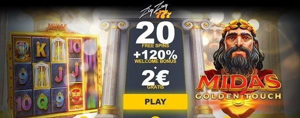 2 EUR no deposit bonus on registration