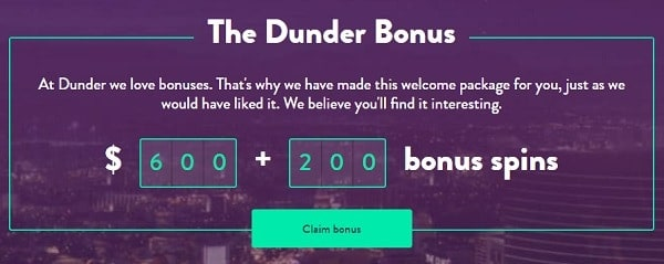 200 free spins and $600 welcome bonus