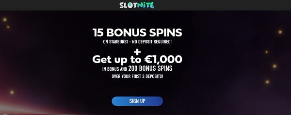 15 free spins no deposit required [Slotnite.com]