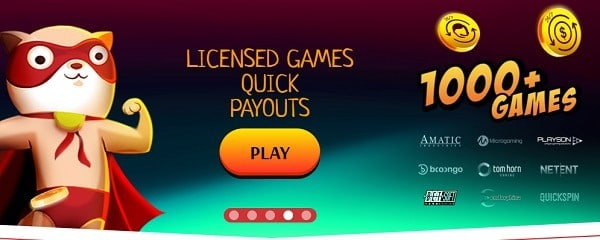 2500+ games from top gaming software
