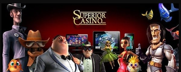 Superior Casino games, slots, blackjack, live dealer, roulette