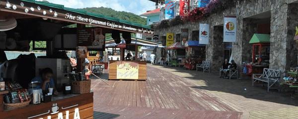 Shops at the coxen hole dockyard