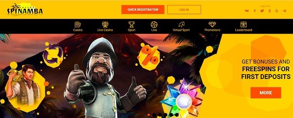Sign up and get 20 free spins - no deposit required!