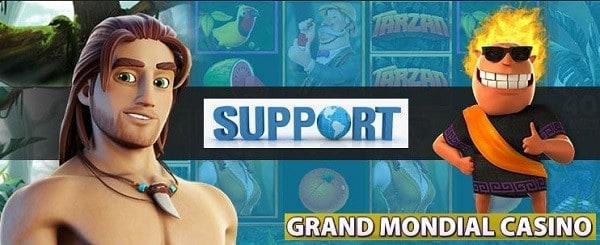 Grand Mondial Casino support