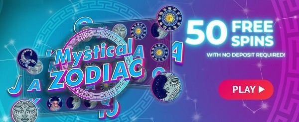50 GRATIS SPINS, without deposit