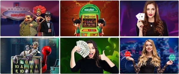 Easybet Casino games and software