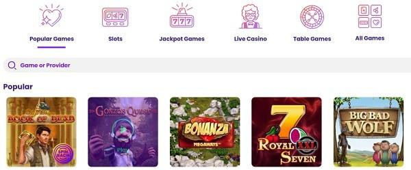 WILDZ Slots, Mobile Games, Live Dealer, Jackpots