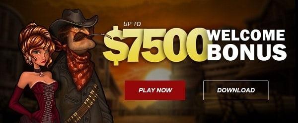 $7,500 welcome bonus to SuperiorCasino.com