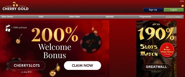 200% welcome bonus and 50 USD free chip code