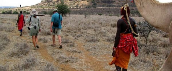 kenya walking safaris