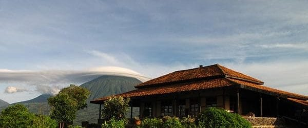 Virunga Lodge View