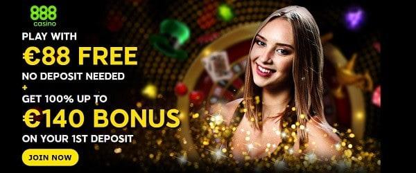 888.com Welcome Bonus