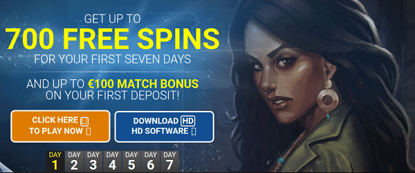 QUATRO 700 free spins for new players