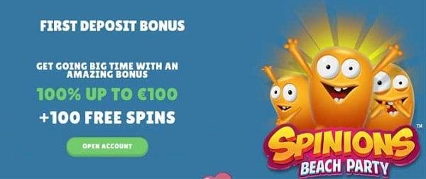 Cashmio 20 free spins bonus, no deposit required