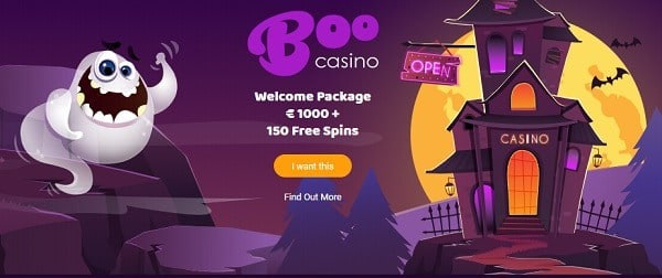 Exclusive welcome offer to all new BooCasino.com players