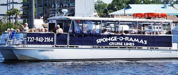 spongeorama cruise lines