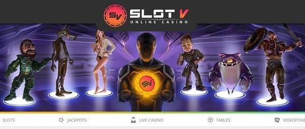 Welcome Bonus in Slot V Casino