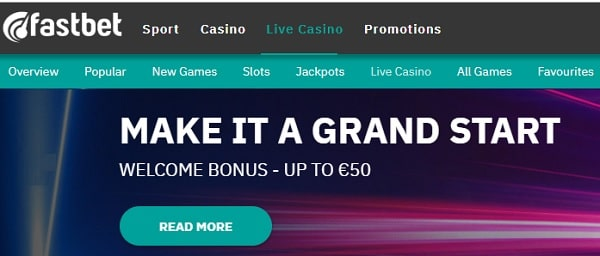 Fastbet.com Pay N Play