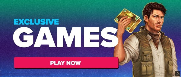 Exclusive Instant Play Slots and Other Games