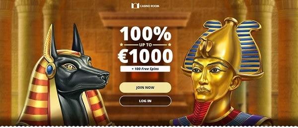 100% up to 1,000 EUR bonus money plus 100 gratis spins