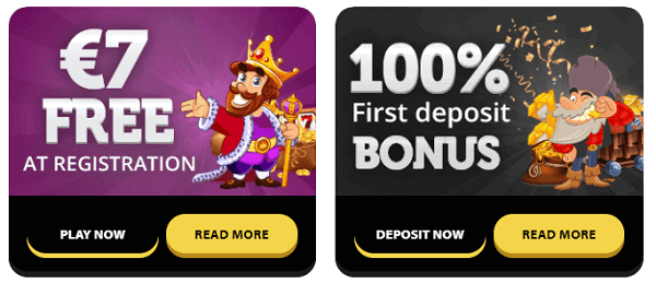 Get free bonus and free spins after registration at Winorama
