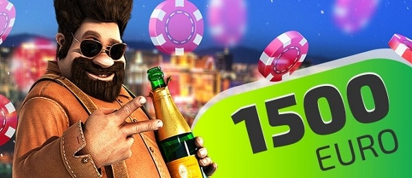 IVI Casino welcome bonus 1500 EURO