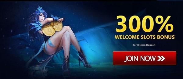 300% bitcoin bonus code