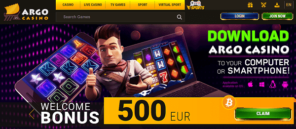 120% up to 500 EUR + 100 Free Spins