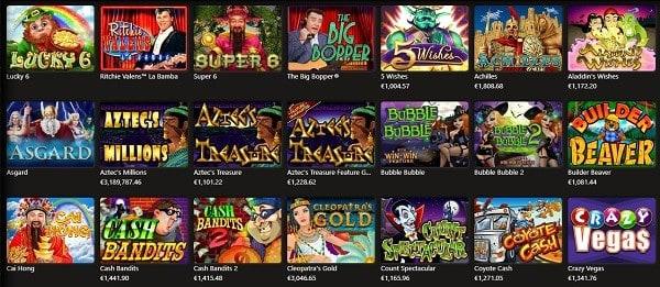 RTG casino games