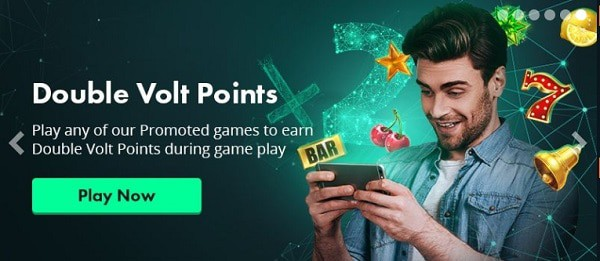 Volt Casino Double Volt Points
