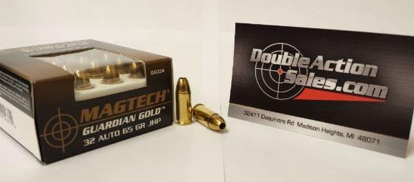 Magtech 32 Auto 65gr JHP Guardian Gold (GG32A)
