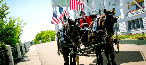 The grand hotel in mackinac island has nice summer hotel packages for families