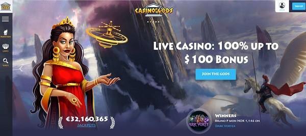 100% bonus on live dealer