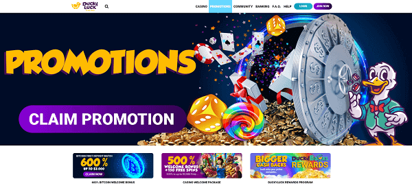 Promotions and Free Spins