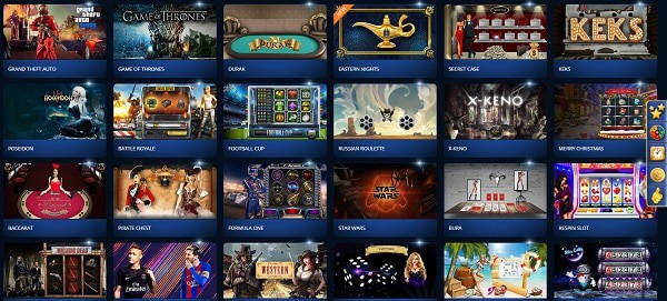 Casino Z games, live dealer, sportsbook