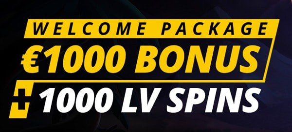 1000 LV Spins Bonus
