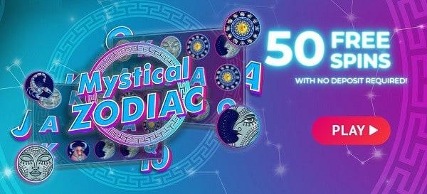 Mystical Zodiac free spins bonus