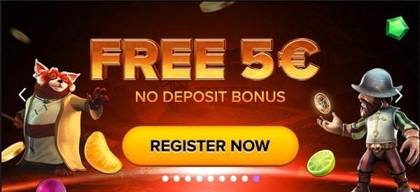 5 EUR free cash