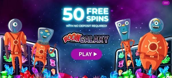 Galaxy Boom free spins