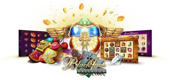 Microgaming Casino Games at Black Jack Ball Room