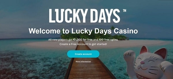 LuckyDays.com Casino Review